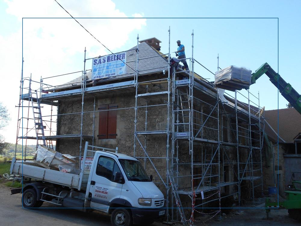 Travaux de toiture à Objat
